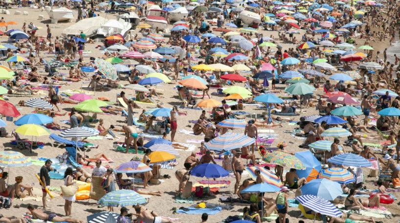 Caída del turismo de sol y playa en España