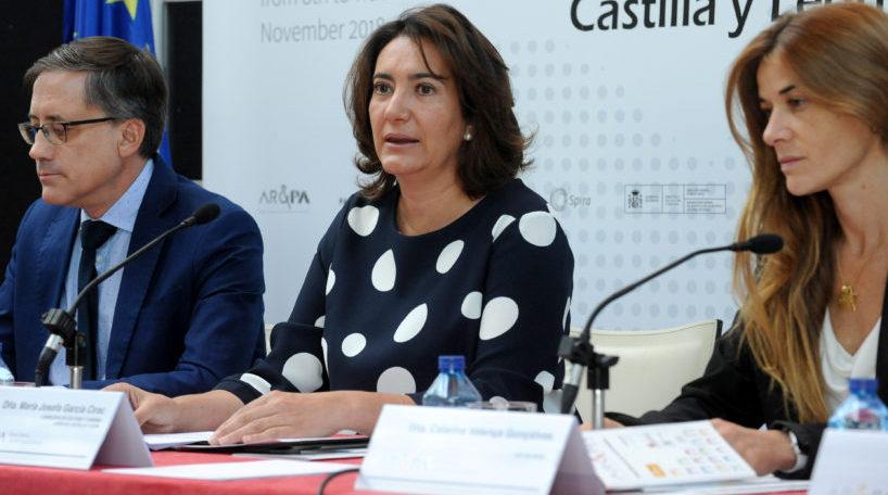 María Josefa García Cirac presidió la presentación del Plan Estratégico de Castilla y León