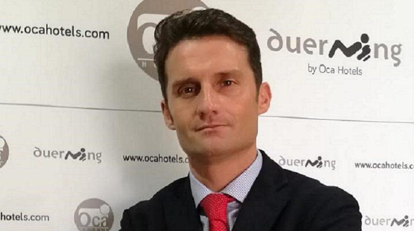 Lalo Crespo ocupó puestos de responsabilidad anteriormente en Oca Hotels