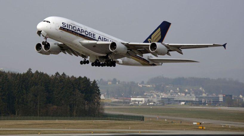 Un vuelo de Singapore Airlines