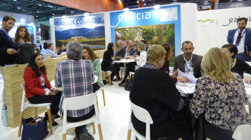 Los representantes gallegos mantuvieron 50 reuniones con turoperadores británicos durante la World Travel Market