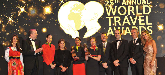 Ganadores World Travel Awards
