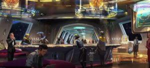 La cantina del hotel de Star Wars