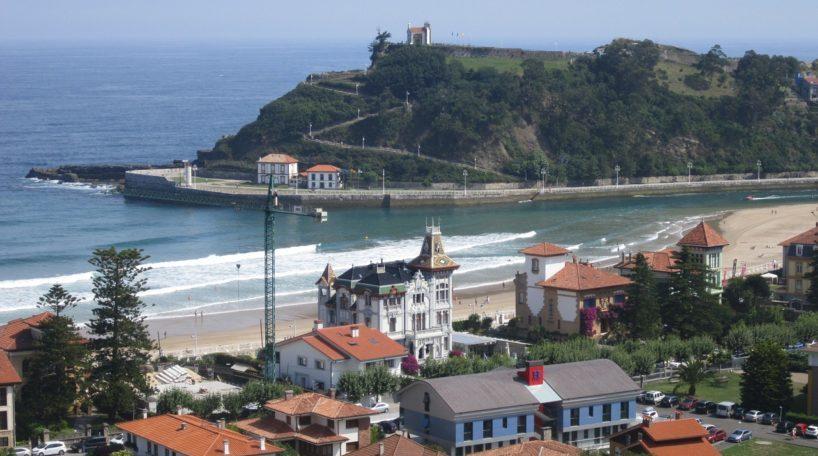 Vista aérea del municipio de Ribadesella