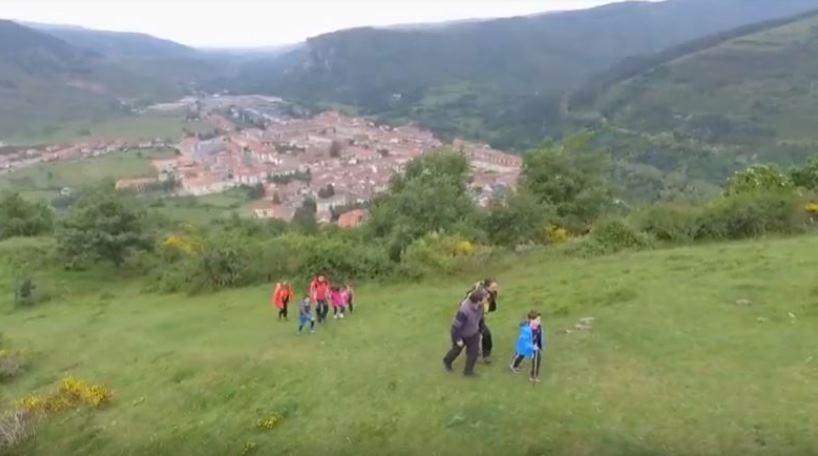 Imagen del vídeo promocional del turismo en La Rioja
