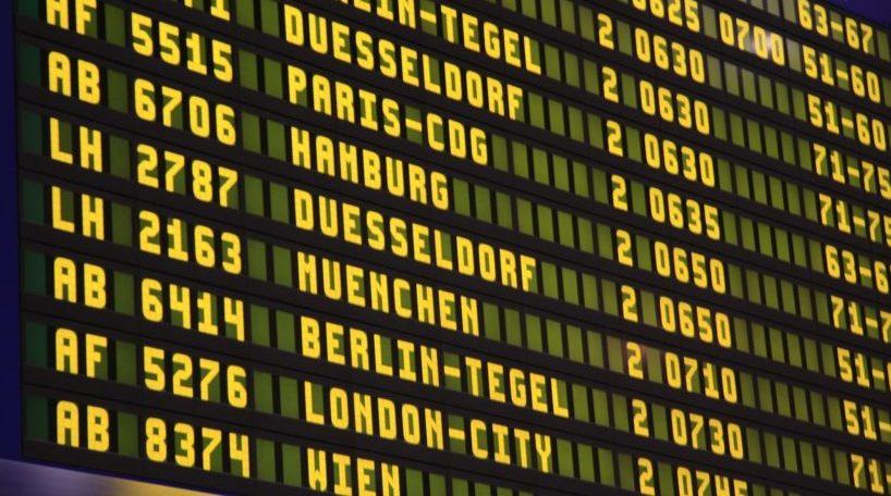 Cancelaciones y retrasos de vuelos
