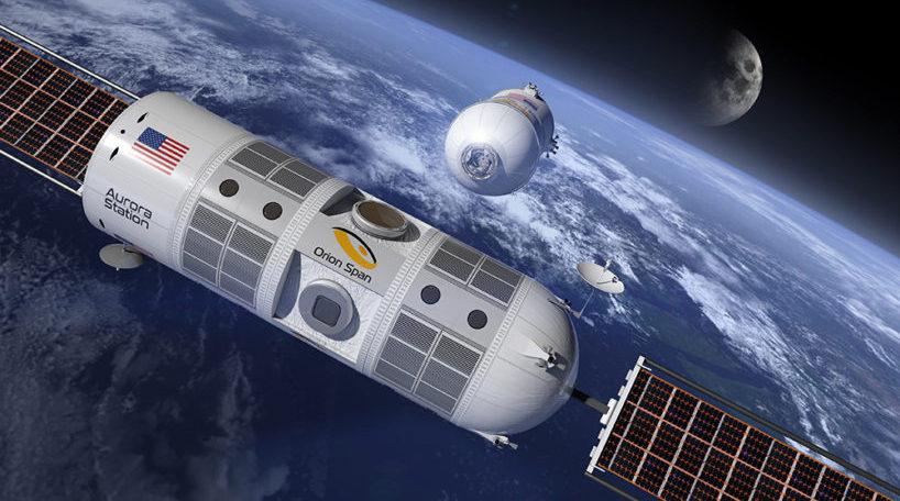 Hotel Espacial Aurora Station