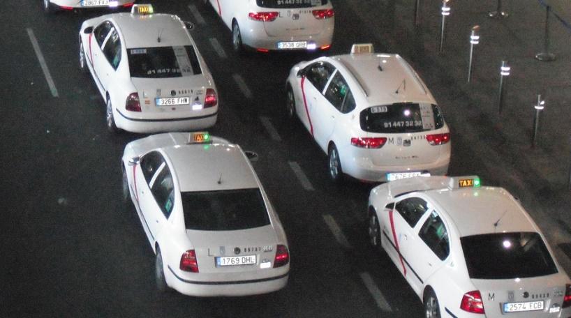 Huelga de taxis en Fitur