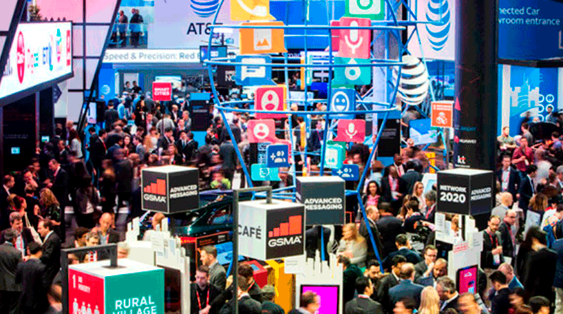 Imagen interior del Mobile World Congress