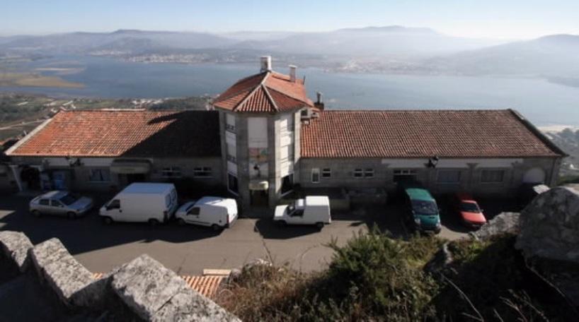 El Hotel Pazo Santa Tecla de A Guarda