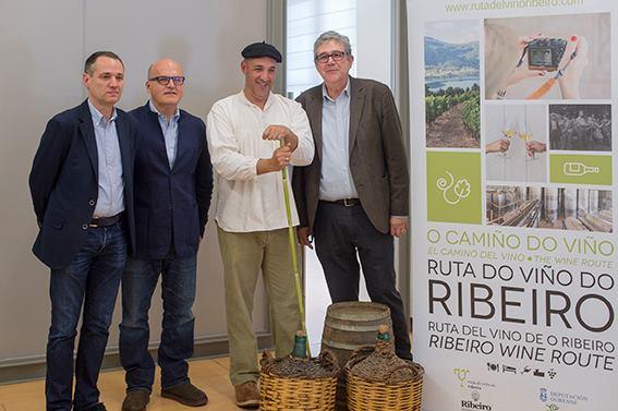 Presentación ruta vino Ribeiro