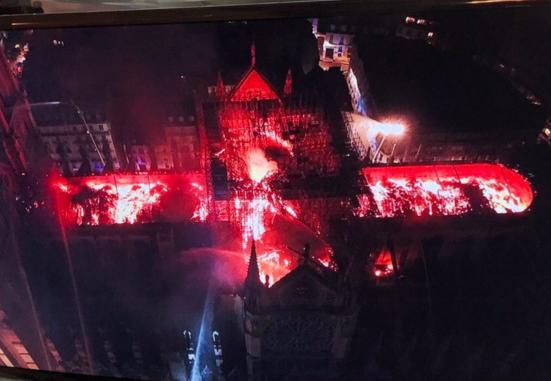 Imagen capturada de la televisión