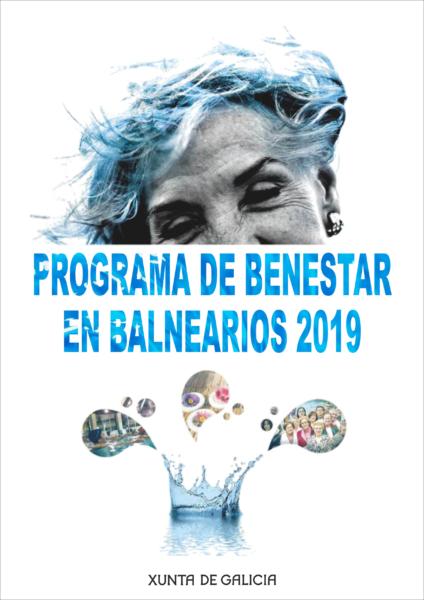Programa de Bienestar en Balnearios 2019 folleto Gallego