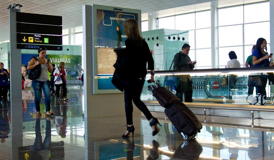 Huelgas en aeropuertos